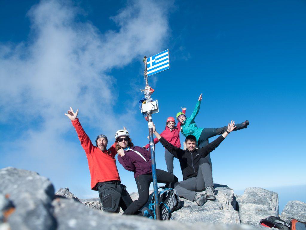 Success! Mytikas at Mt. Olympus - 2918 m.