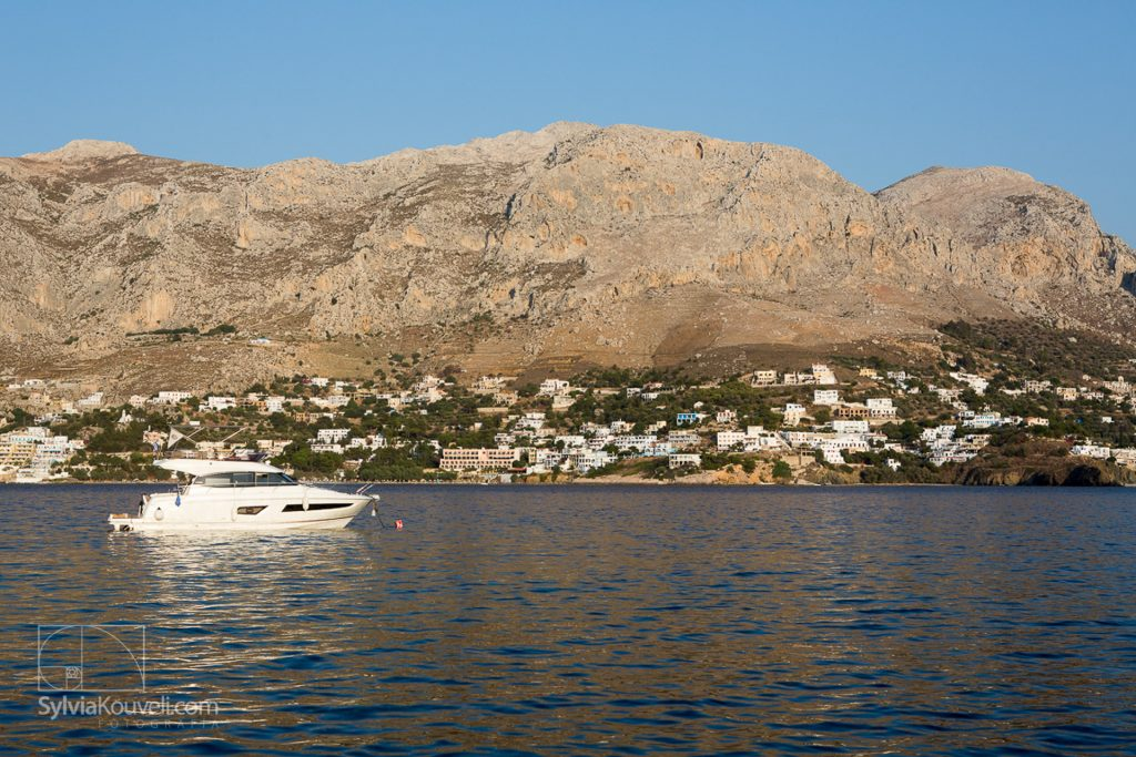 View of Kalymnos from Telendos